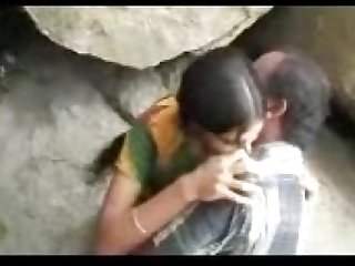 Desi Outdoor couple